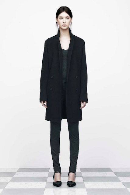 T BY ALEXANDER WANG BRUSHED FELT DOUBLE BREASTED COAT_f0111683_170993.jpg