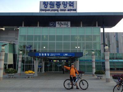 韓国自転車旅  二日目_a0210091_81109.jpg