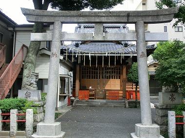 江島杉山神社(赤穂浪士引き揚げルート4)_c0187004_1791665.jpg