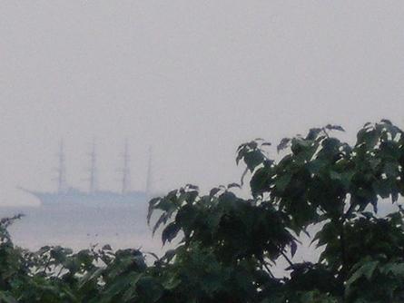 燧灘に 帆船 海王丸  _b0186205_9315150.jpg