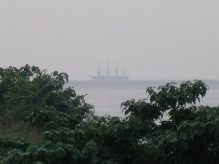 燧灘に 帆船 海王丸  _b0186205_9325189.jpg