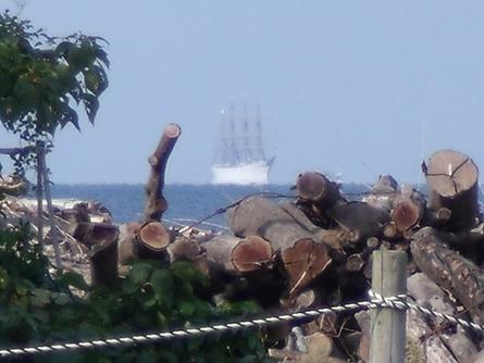 燧灘に 帆船 海王丸  _b0186205_9351346.jpg