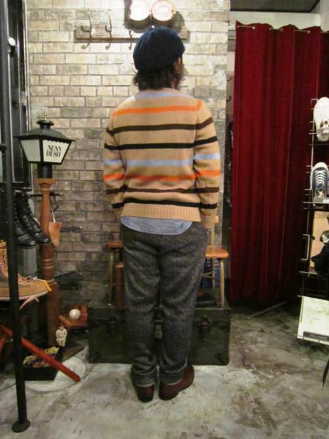 """NORMAN TULLOCH\"" MULTI COLOR STRIPE SWETER ご紹介_f0191324_755424.jpg"