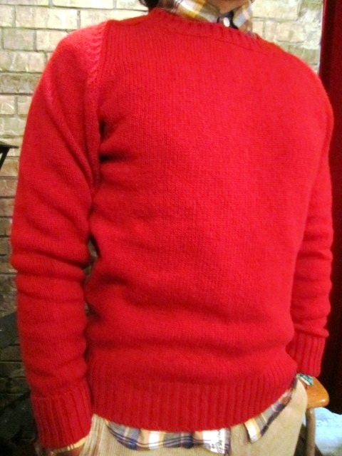 """NORMAN TULLOCH\"" MULTI COLOR STRIPE SWETER ご紹介_f0191324_81446.jpg"