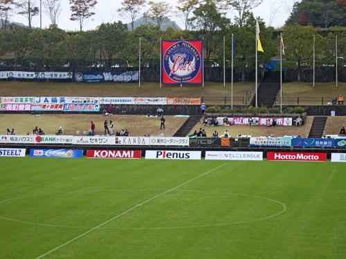 なでしこリーグ2012観戦!岡山湯郷Belle VS INAC神戸!!_d0156040_1029325.jpg