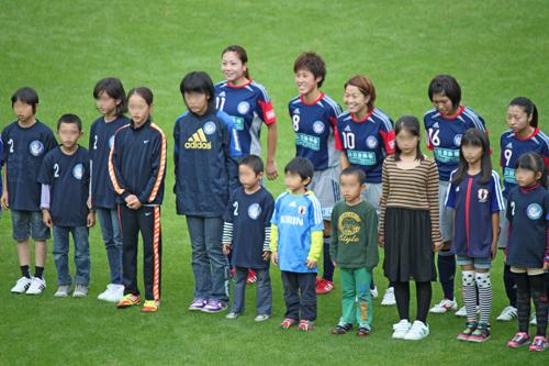 なでしこリーグ2012観戦!岡山湯郷Belle VS INAC神戸!!_d0156040_1134187.jpg