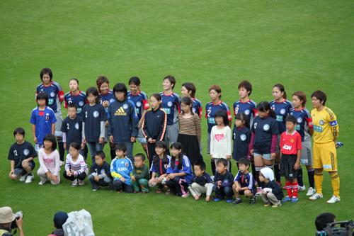なでしこリーグ2012観戦!岡山湯郷Belle VS INAC神戸!!_d0156040_1136109.jpg
