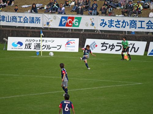 なでしこリーグ2012観戦!岡山湯郷Belle VS INAC神戸!!_d0156040_1217549.jpg