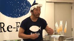 夢の食卓      おさかな官僚 上田勝彦_d0083265_1462321.jpg