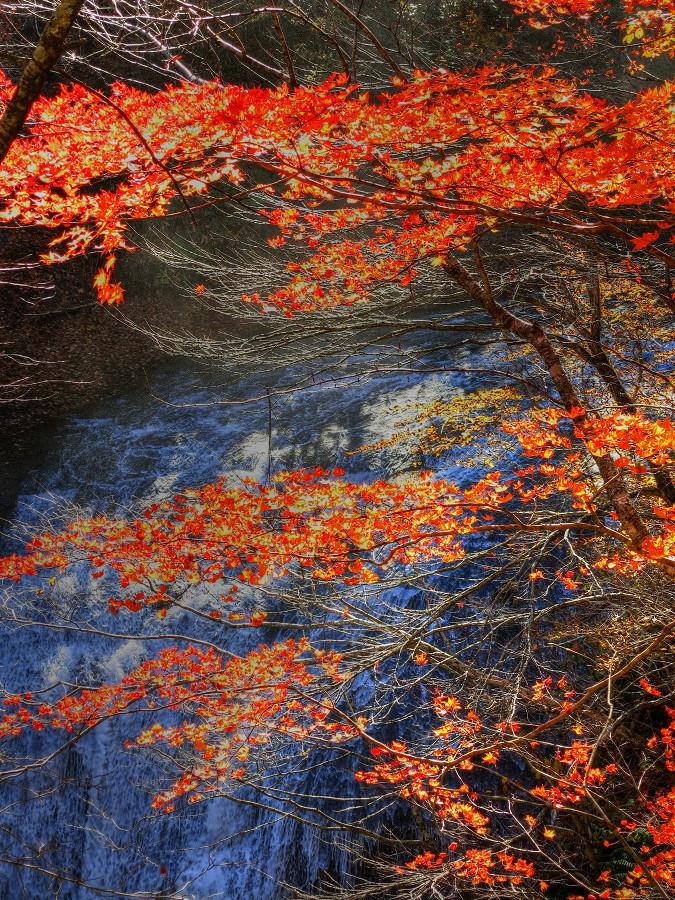 恵庭渓谷 白扇の滝_a0160581_14543056.jpg