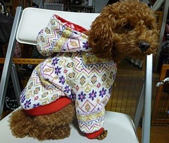 ♪♪さくら♪♪の冬服、リバーシブルのジャンパーです_b0175688_21481547.jpg