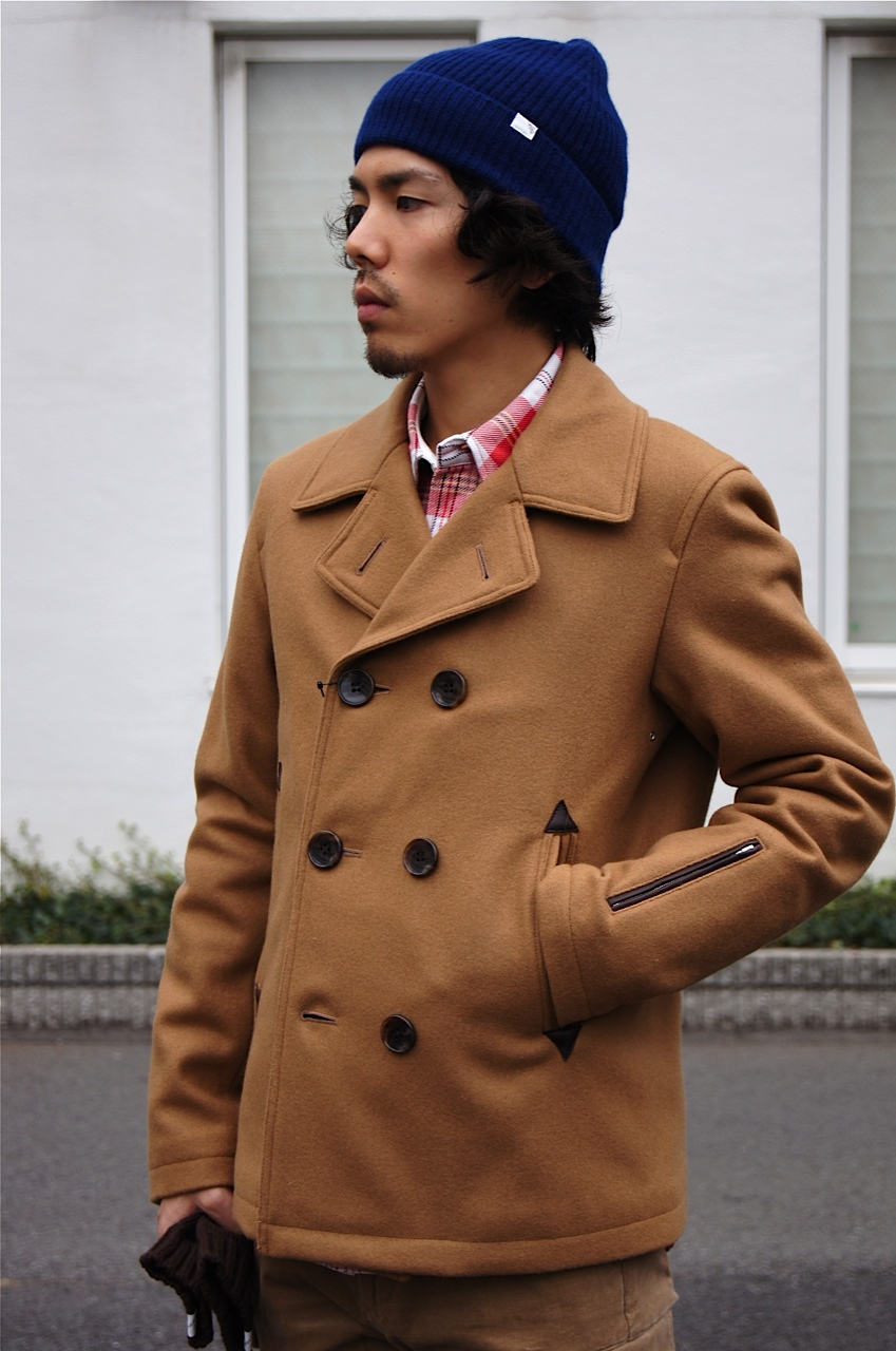 """SOPHNET.\"" WOOL MELTON P COAT_c0079892_21271277.jpg"