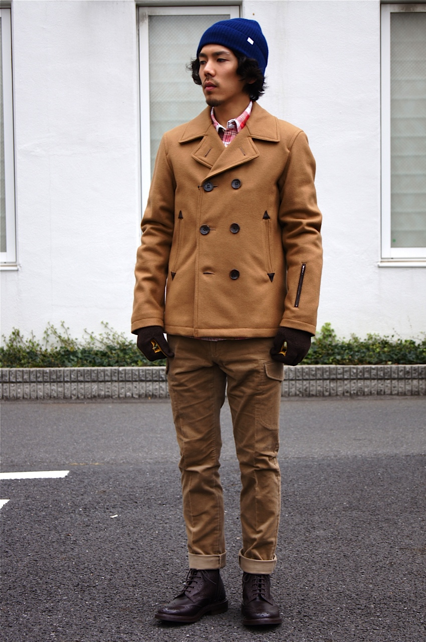 """SOPHNET.\"" WOOL MELTON P COAT_c0079892_2127485.jpg"