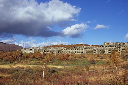 八幡平松尾鉱山跡地・2012.10.24~キツネ~_b0259218_514923.jpg