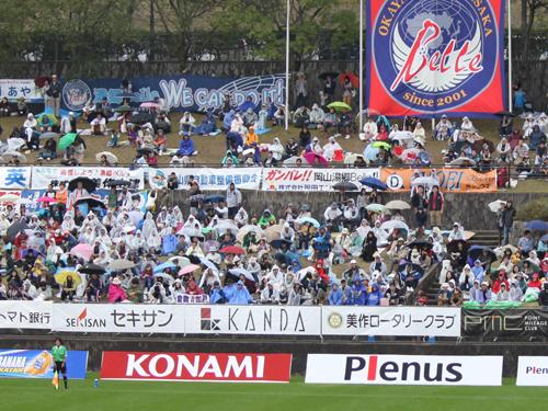 なでしこリーグ2012観戦!岡山湯郷Belle VS INAC神戸!!_d0156040_9332416.jpg