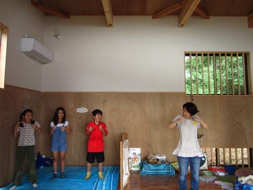 屋久島の木を磨くワークショップ@鎌倉ソンベカフエそして秋谷_b0160957_9493248.jpg