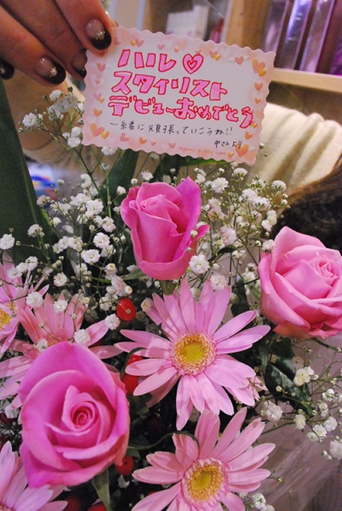 ★HARUデビュー★_e0056674_9554261.jpg