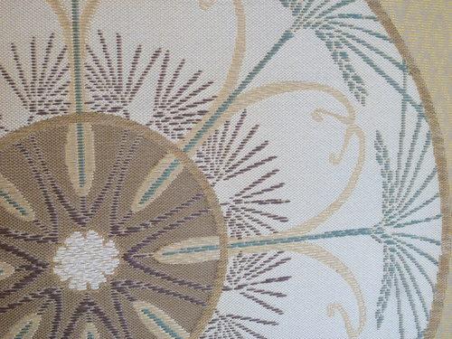 手織袋帯  『 ラ・レコルト 』   <工芸帯地 洛風林の帯>_d0159384_22294749.jpg