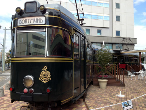 ドルトムント電車のレストラン in Hiroshima_a0047200_16292016.jpg