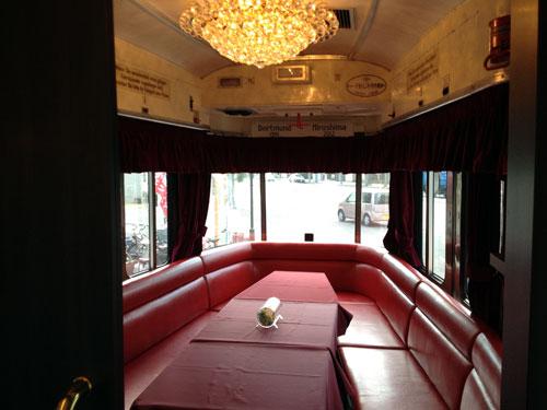 ドルトムント電車のレストラン in Hiroshima_a0047200_1630460.jpg