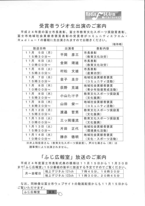 平成24年度富士市表彰式展と受賞者の皆さま_f0141310_832152.jpg