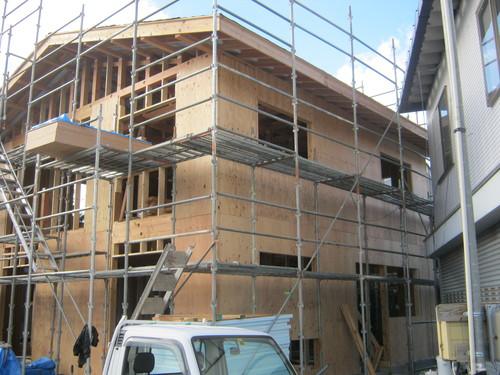 大町K邸新築工事 進行状況_c0218716_17352317.jpg