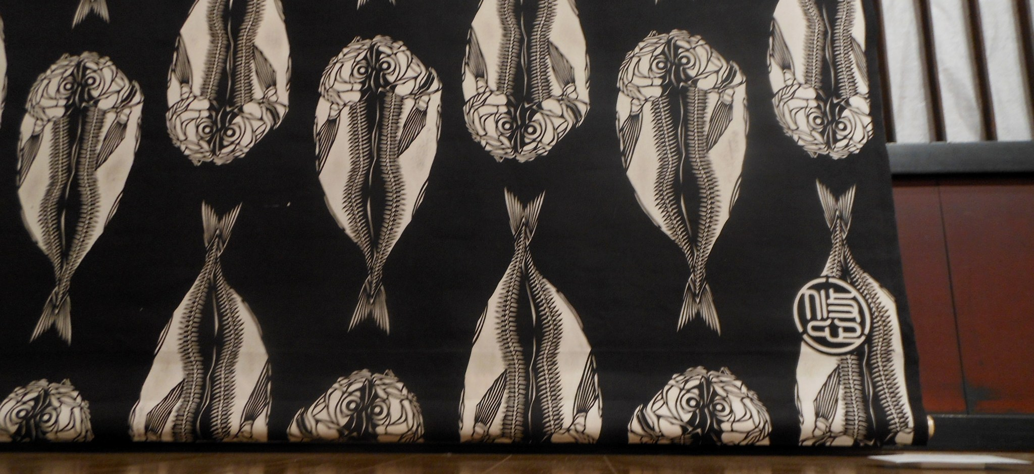 1855) 「工藤ユウ 型染作品展 『干物展』」 g.犬養 終了10月24日(水)~10月29日(月)  _f0126829_22102434.jpg