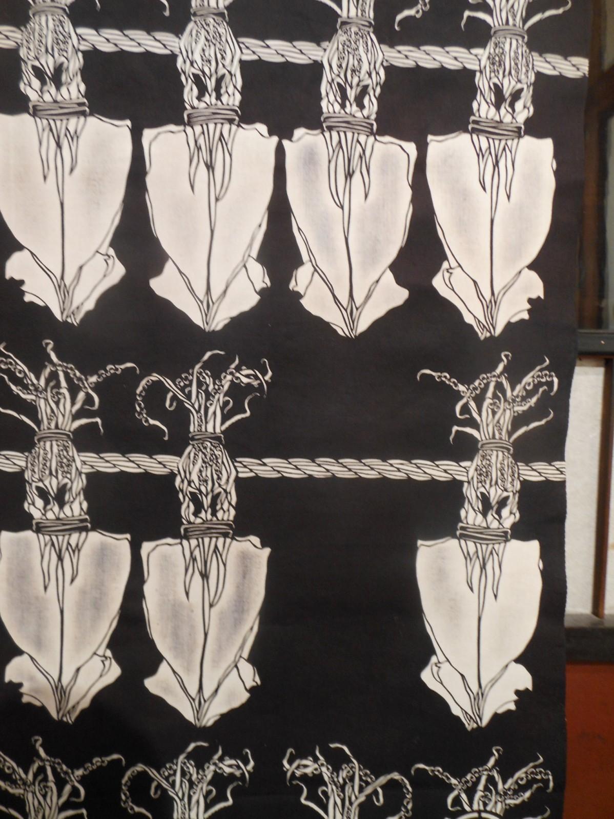 1855) 「工藤ユウ 型染作品展 『干物展』」 g.犬養 終了10月24日(水)~10月29日(月)  _f0126829_22241895.jpg