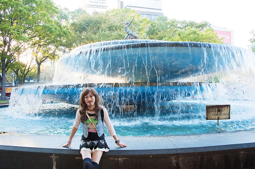 名古屋、栄、噴水_d0119642_10324127.jpg