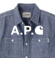 「A.P.C. ×Carhartt 」_e0124490_13243266.jpg