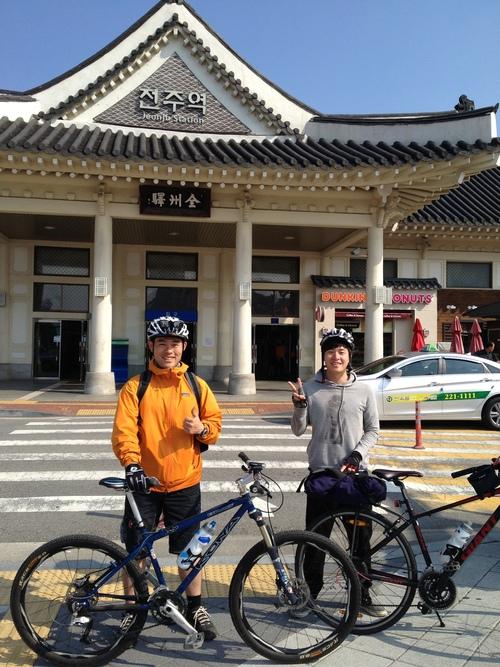 韓国自転車旅の最終日は_a0210091_19561495.jpg