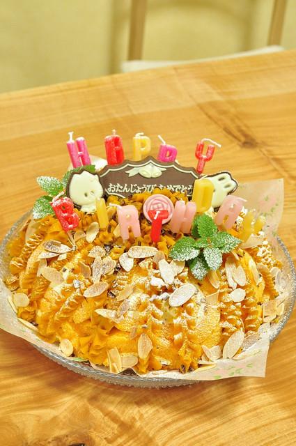 レンジ醤油糀の牛煮弁当と息子誕生日ケーキ_b0171098_828956.jpg