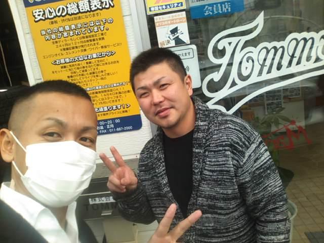 ランクル松井様ご来店(^^)_b0127002_9531032.jpg