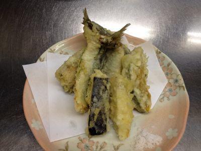 いわしの天ぷら_e0160513_12383555.jpg
