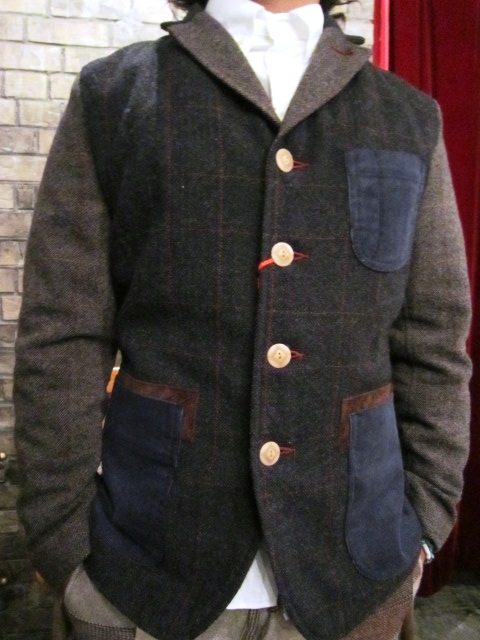 "AmanjaKania ""Old Farmer Jacket\"" ご紹介_f0191324_9531135.jpg"