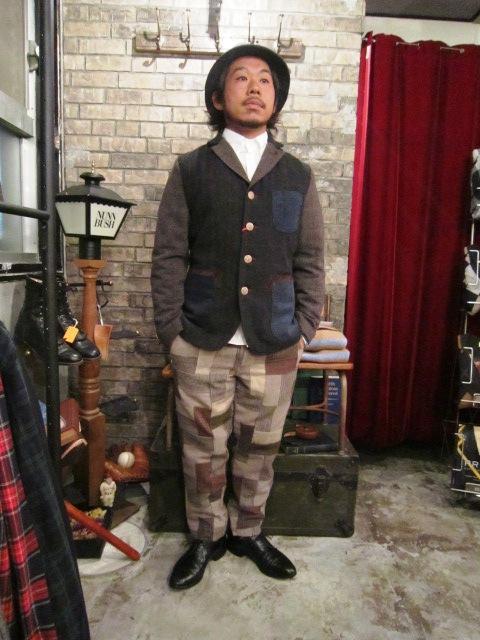 "AmanjaKania \""Old Farmer Jacket\"" ご紹介_f0191324_9542711.jpg"