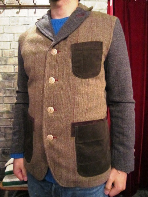 "AmanjaKania ""Old Farmer Jacket\"" ご紹介_f0191324_9552096.jpg"