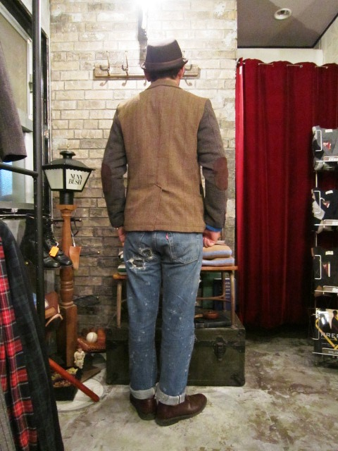 "AmanjaKania ""Old Farmer Jacket\"" ご紹介_f0191324_956524.jpg"