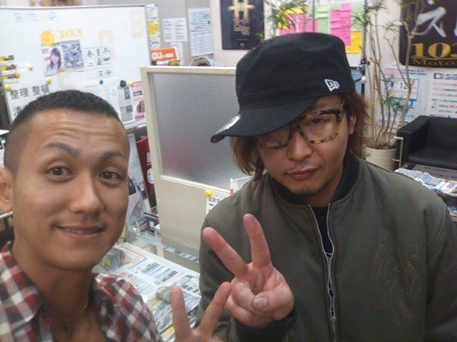 プリウス植田さんご来店(^^)_b0127002_20545027.jpg