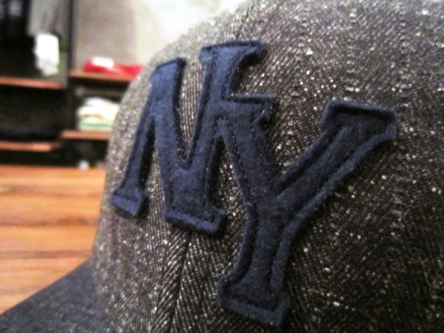 "Jackman \""Nep Herringbone Baseball Cap\"" ご紹介_f0191324_940273.jpg"