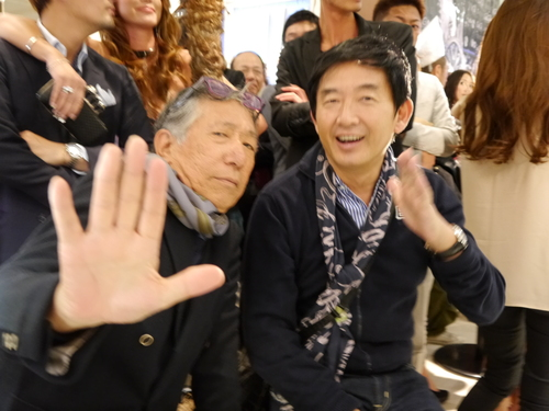 ISHIDA表参道のGAGAパーティに亀田興毅さんらもお目見え_f0039351_14482451.jpg