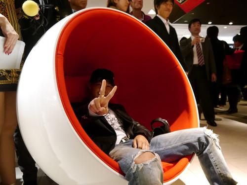 ISHIDA表参道のGAGAパーティに亀田興毅さんらもお目見え_f0039351_1456650.jpg