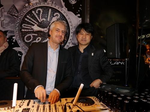 ISHIDA表参道のGAGAパーティに亀田興毅さんらもお目見え_f0039351_14571597.jpg