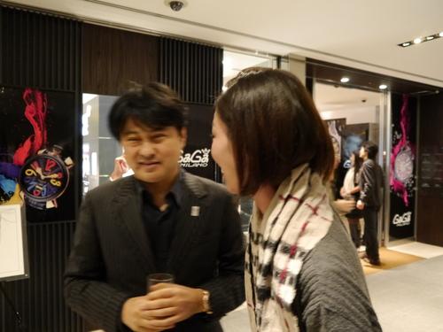 ISHIDA表参道のGAGAパーティに亀田興毅さんらもお目見え_f0039351_14583536.jpg