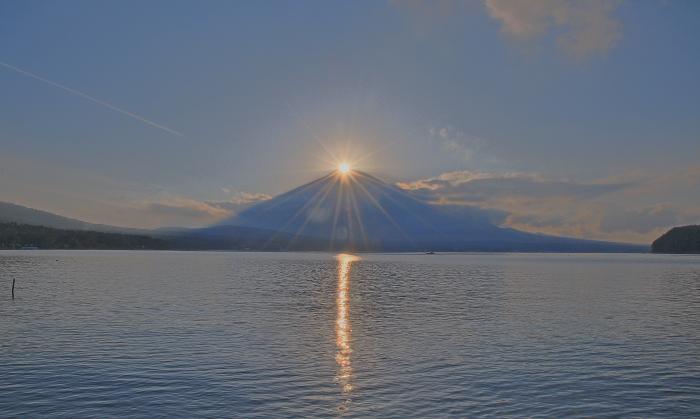 山中湖村ダイヤモンド富士_a0150260_0582988.jpg