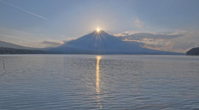 山中湖村ダイヤモンド富士_a0150260_0585959.jpg