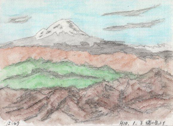 塔ノ岳より富士山を望む_e0232277_13192450.jpg