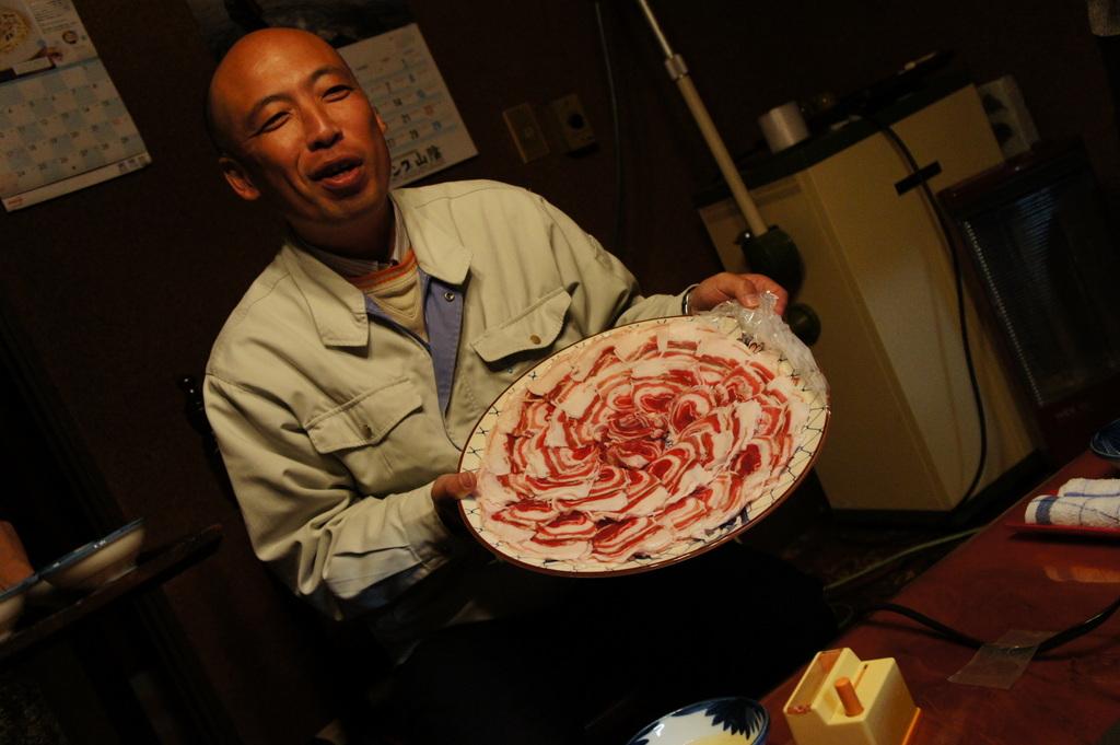 美味しい津和野、イノシシの「げんごろう」_c0180686_0192633.jpg