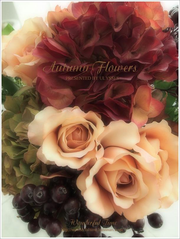 "☆*・""・,☆~ Autumn Flowers ~☆*・""・,☆ _a0108795_1151.jpg"