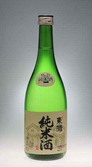 東灘 特別純米酒  [東灘酒造]_f0138598_835419.jpg